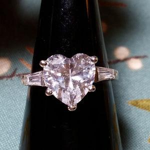 Jewelry - Heart CZ Ring